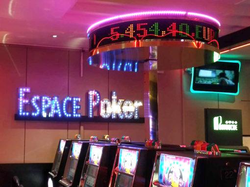 Signalétique intérieure et extérieure Casino