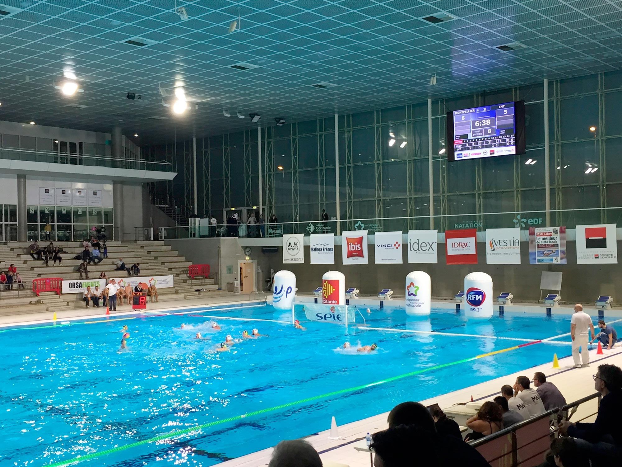 Signalétique Water Polo