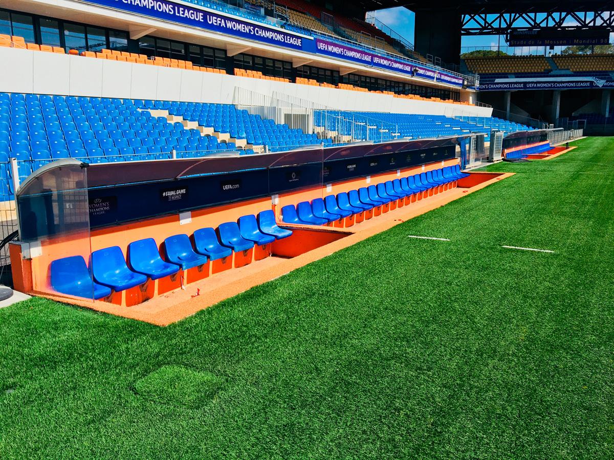 Habillage stade Montpellier 2018