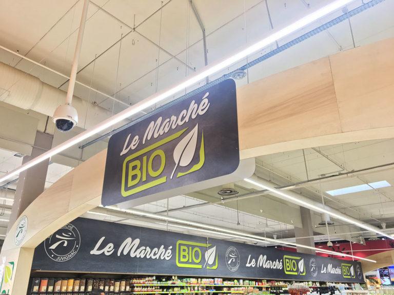 Espace bio Intermarché