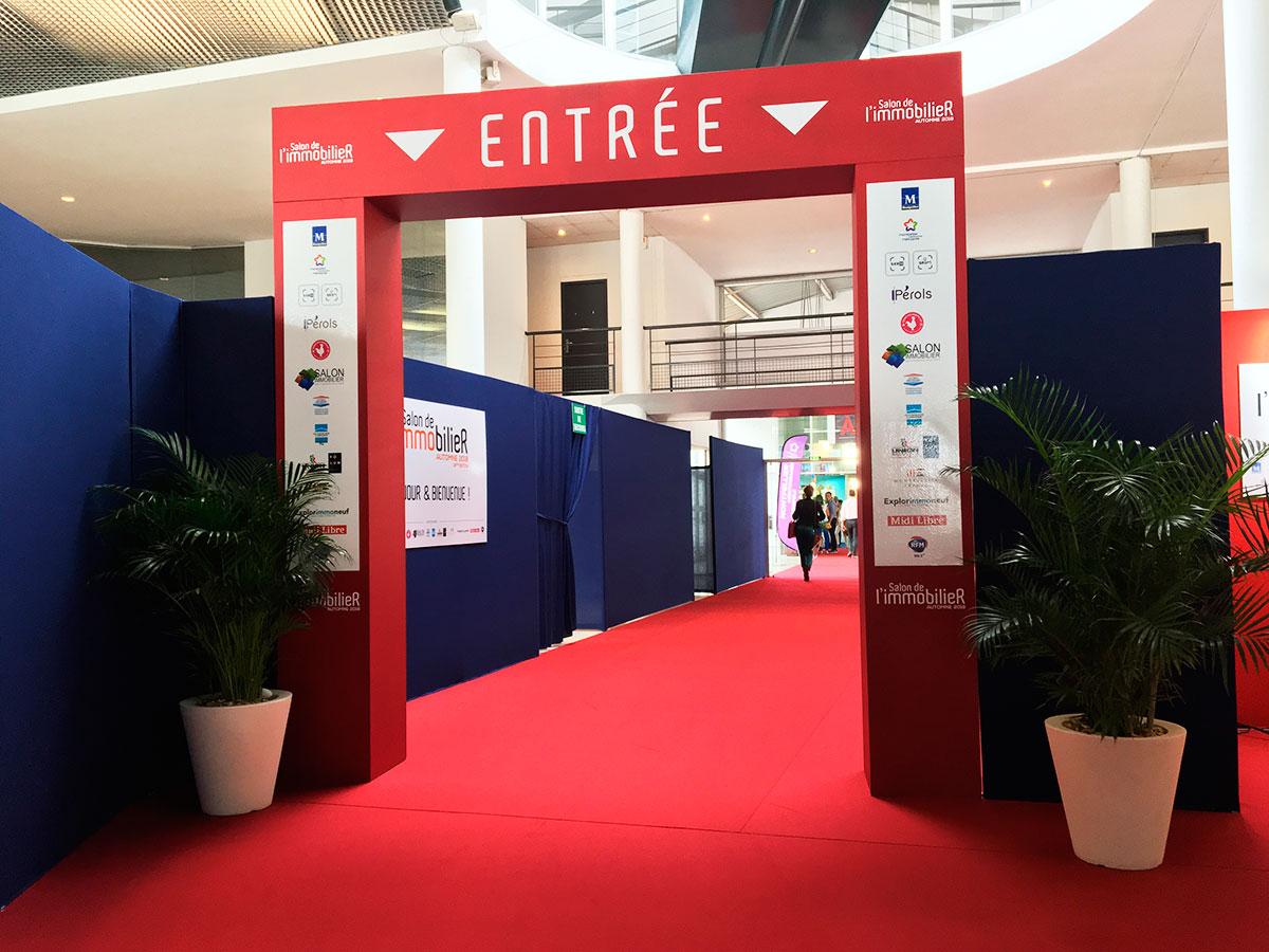 Salon immobilier parc expos Montpellier 2018