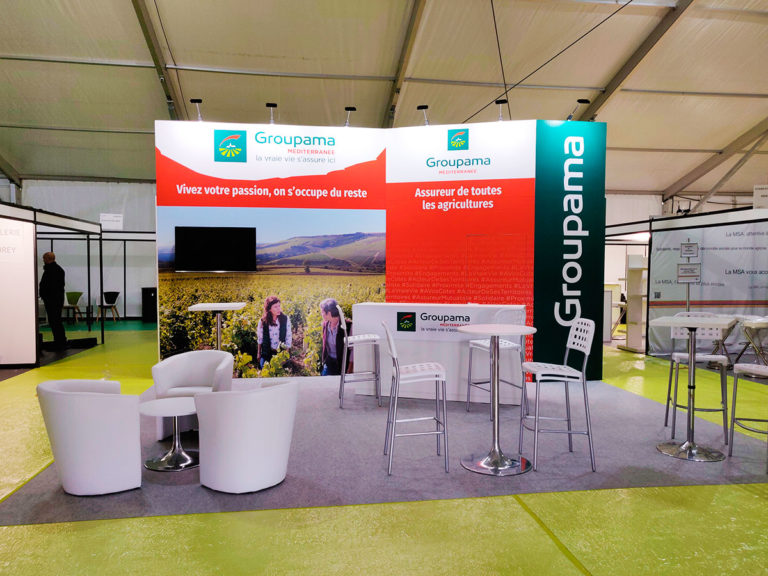 Stand Groupama Dionysud Béziers 2018