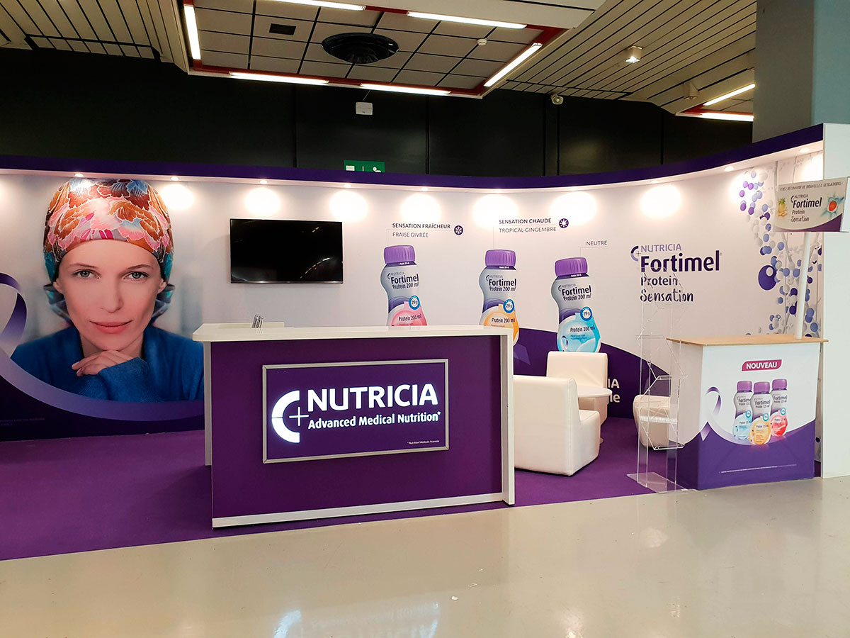 Stand Danone Nutricia Nice 2018